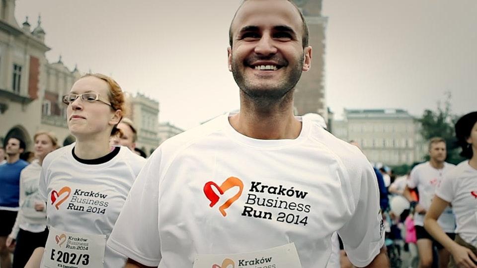 PAWEŁ IDZI CAMERA - Kraków Business Run 2014