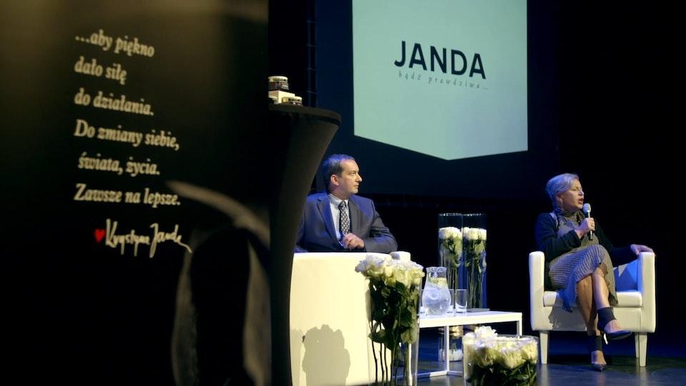 PAWEŁ IDZI CAMERA - Kosmetyki JANDA konferencja prasowa