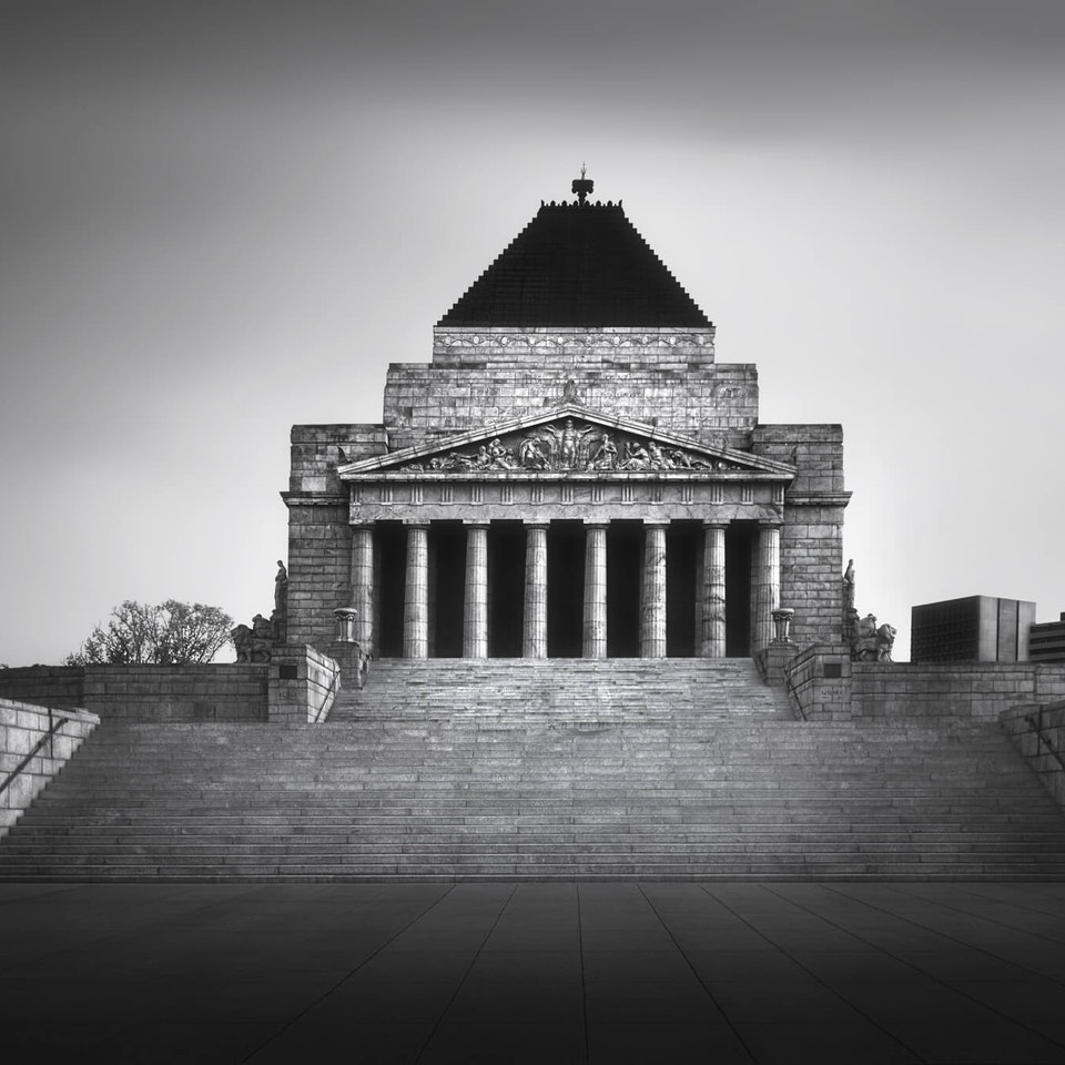 Architecture Shrine of Rememberance