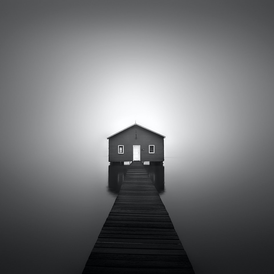 Architecture Boatshed-in-Fog