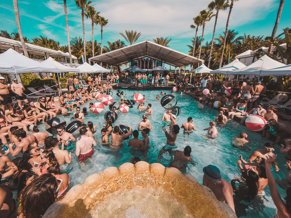 DJ Mag Miami Pool Party