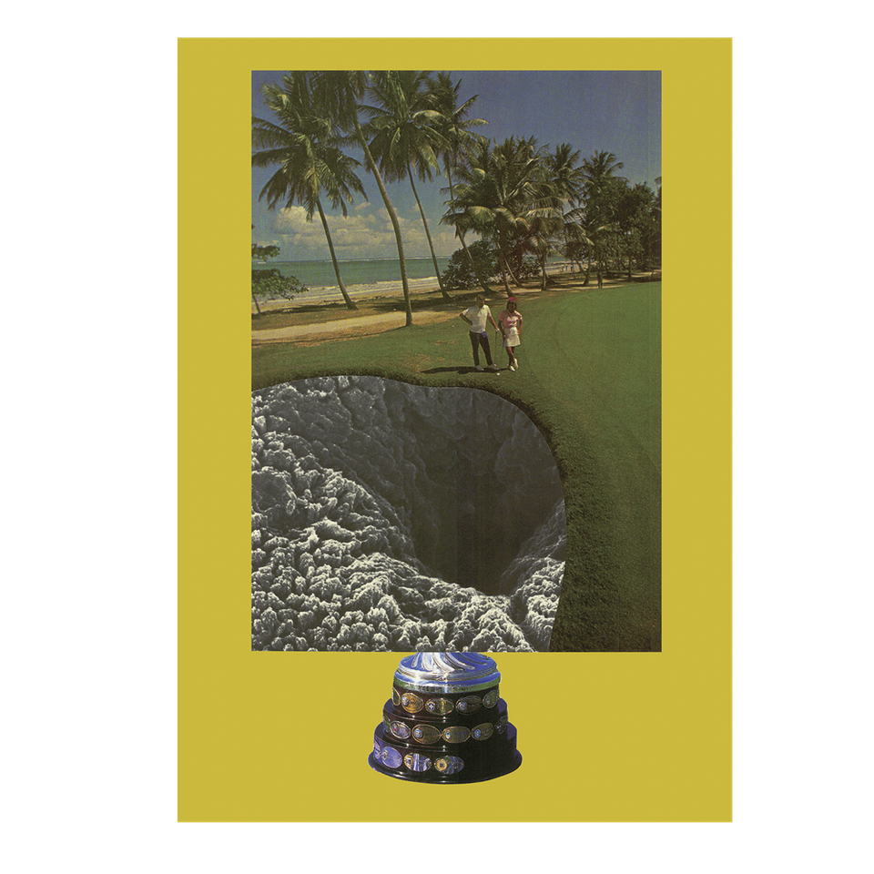 I'm here, but I'm still lost! - Phenomenon, Photo collage on paper, 594 x 841