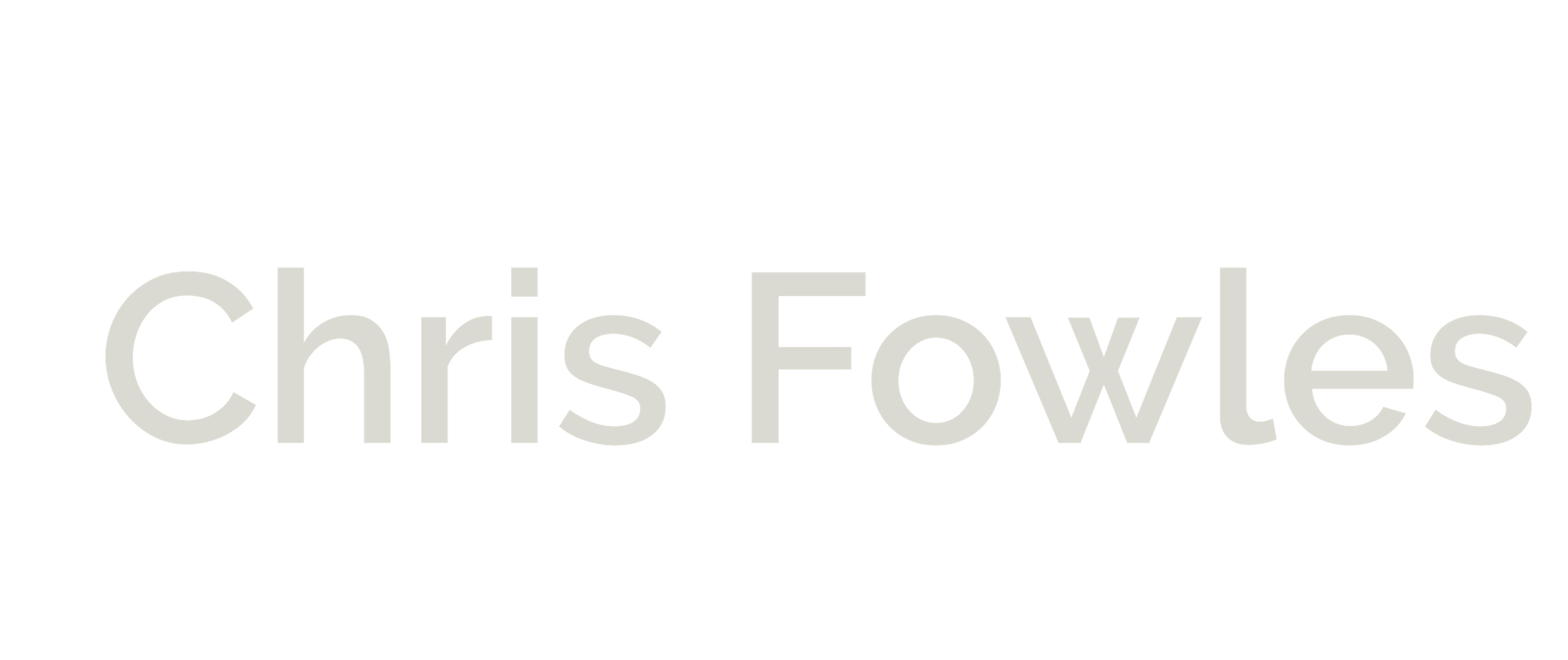Chris Fowles | Director