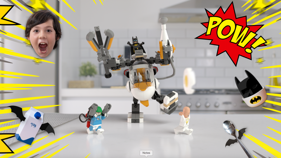Diamond Bullet - Breakfast with LEGO® Batman
