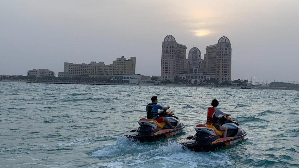 Diamond Bullet - A Qatari Adventure