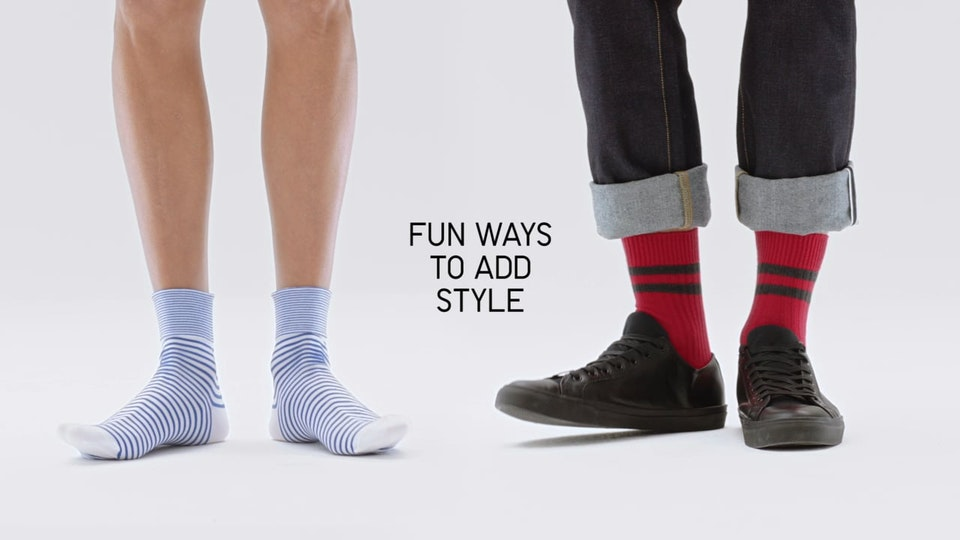 "Uniqlo // LifeWear Campaign  ""Socks"""
