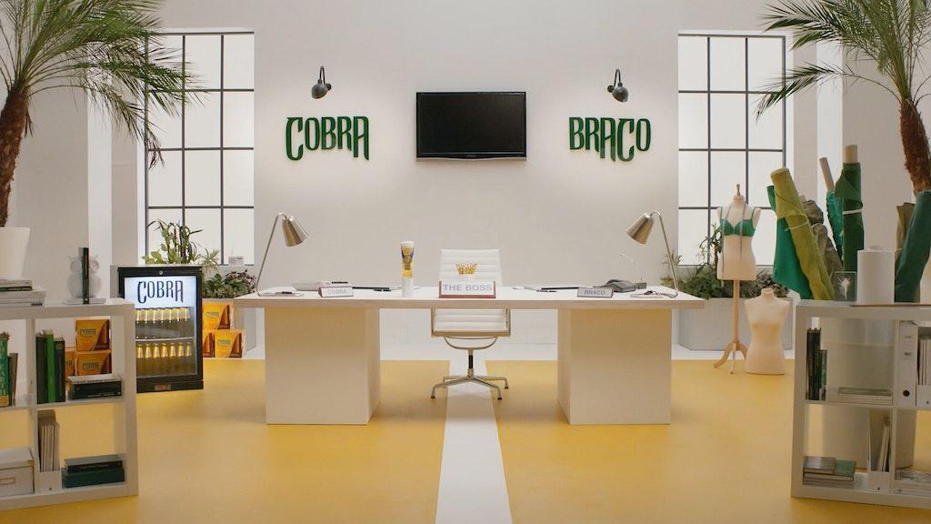 COBRA / The Boss|Dir: Ed Rosie / Kream
