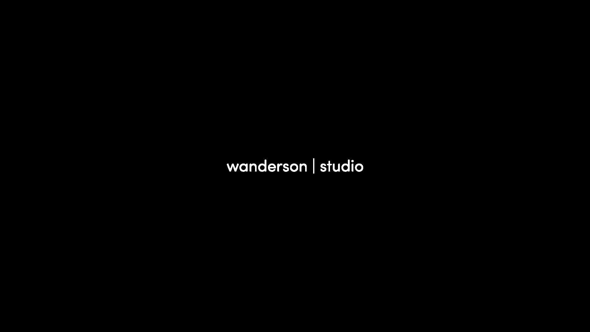 Wanderson Studio Showreel
