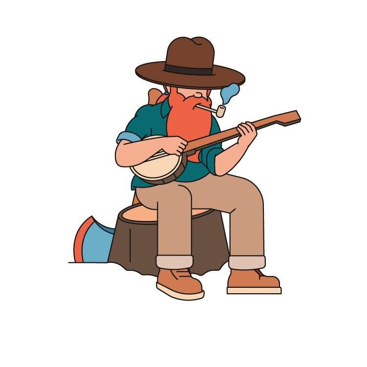BloodBros. Illustration - bluegrassweb