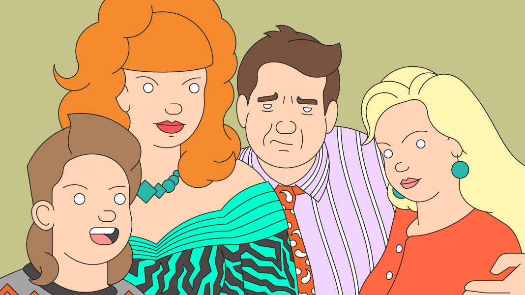 BloodBros. illustration - MarriedwithChildren