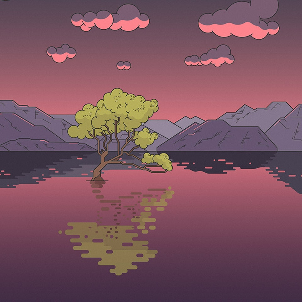BloodBros. Illustration - That Wanaka Tree