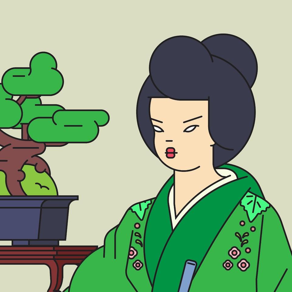 Emile - The Handmaiden:Lady Hideko