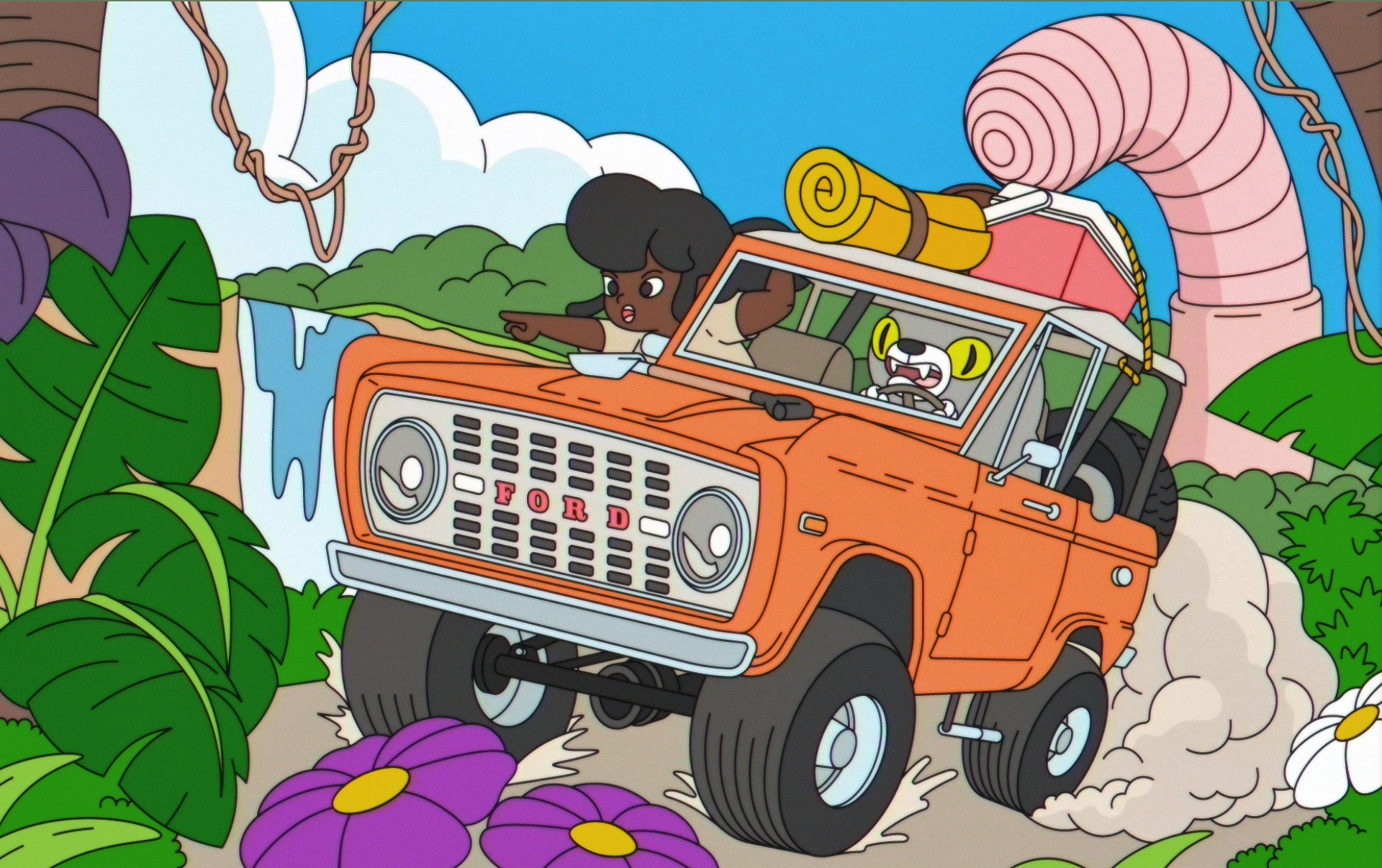 Emile - Ford bronco worm