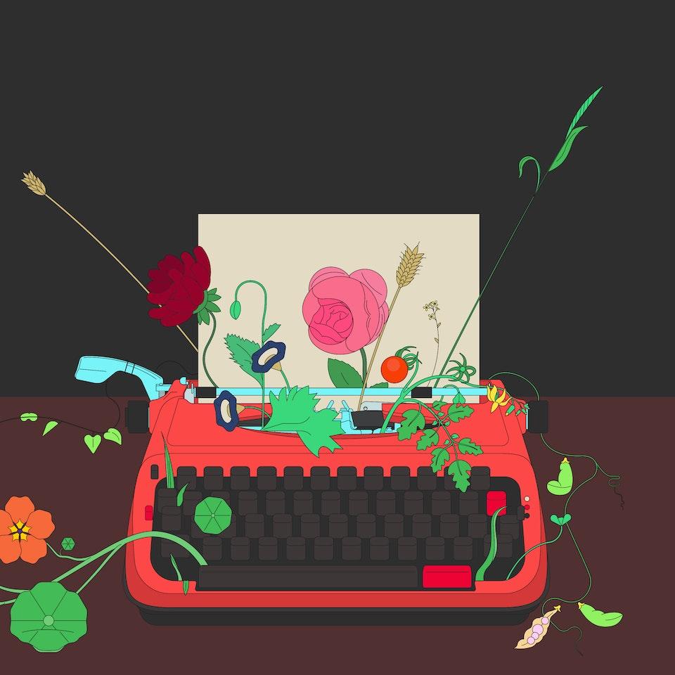 BloodBros. Illustration - Ideas in bloom