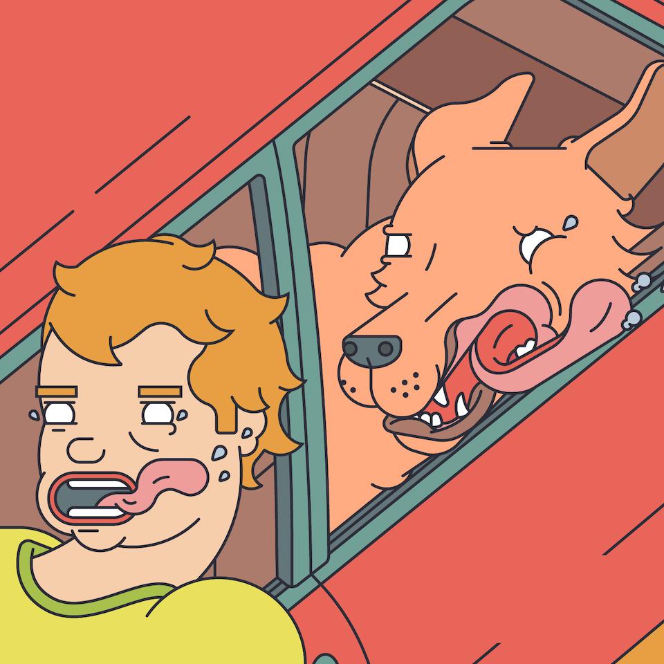 BloodBros. Illustration - Mixam: Human Tongue