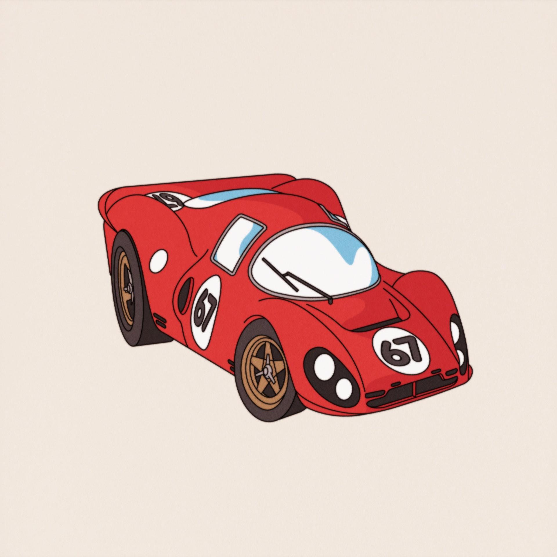 Emile - Ferrari P4