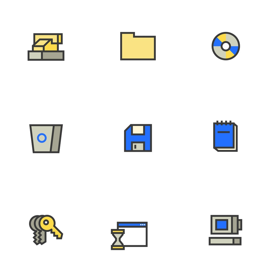 BloodBros. illustration - Icons 98