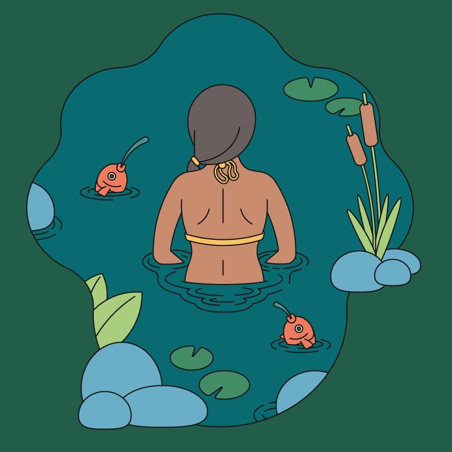 BloodBros. Illustration - swimmingweb