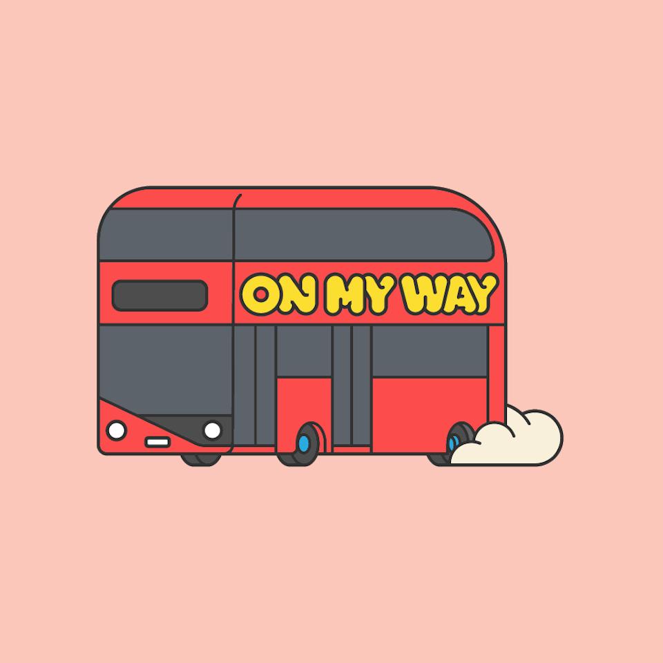BloodBros. illustration - Viber City Stickers