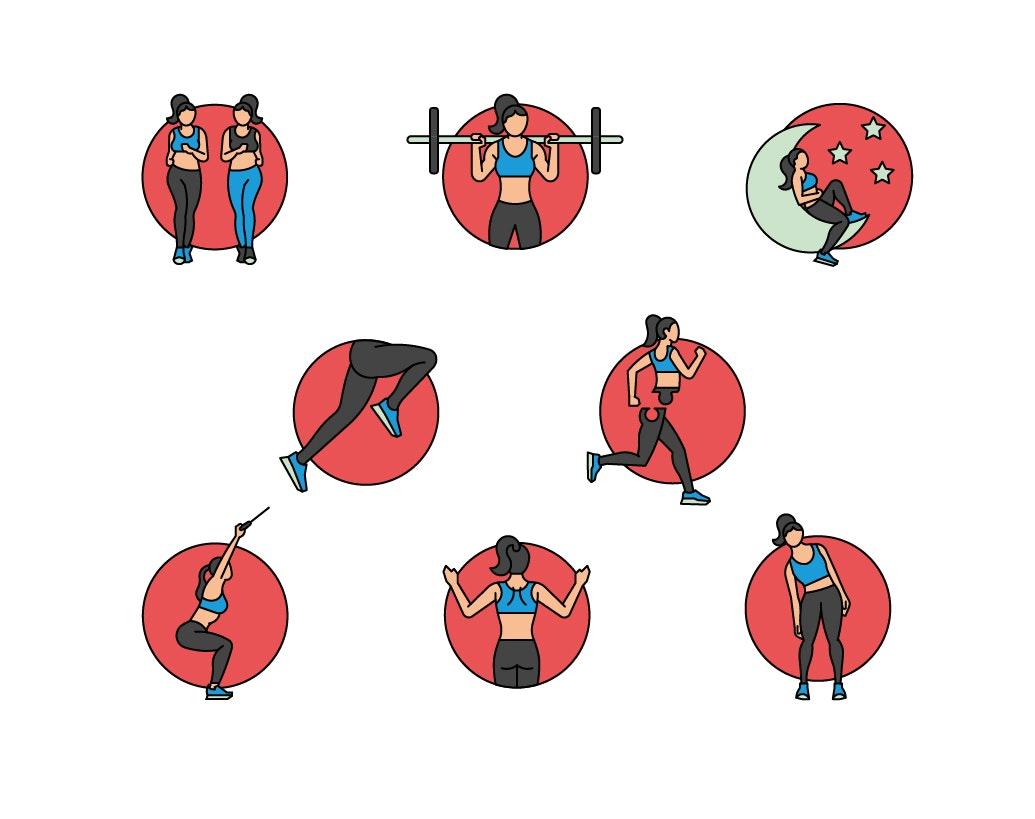 BloodBros. Illustration - RW icons