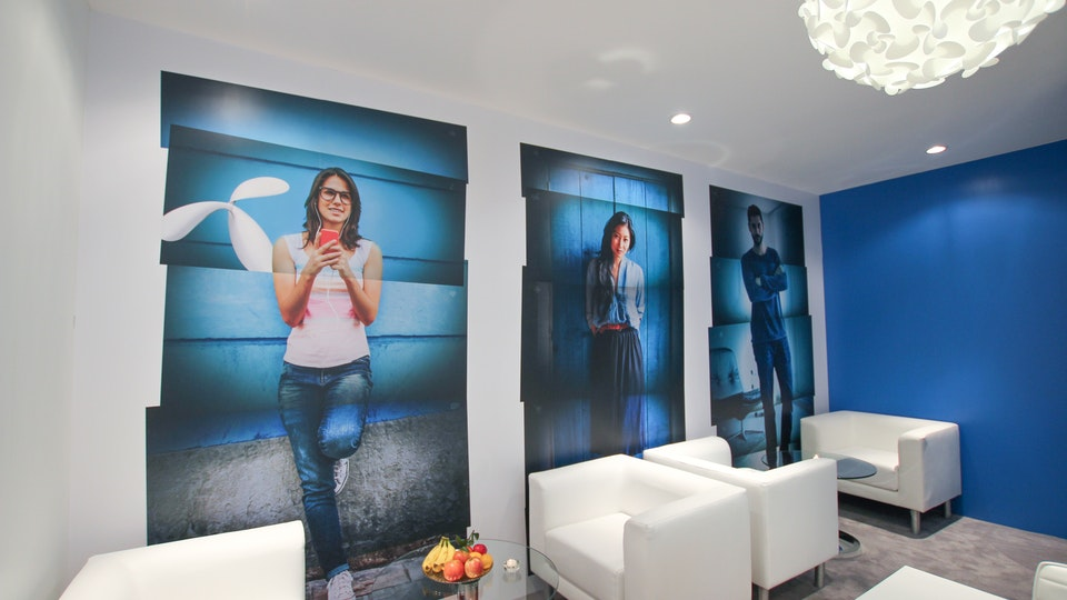Telenor Group - Telenor MWC meeting room
