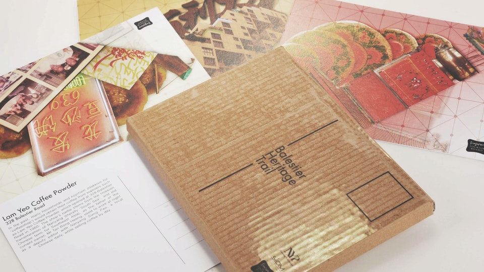 Balestier Heritage Trail Postcards