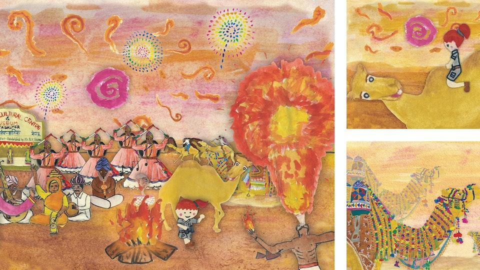 Ashley's Adventure Time To Jaisalmer Desert