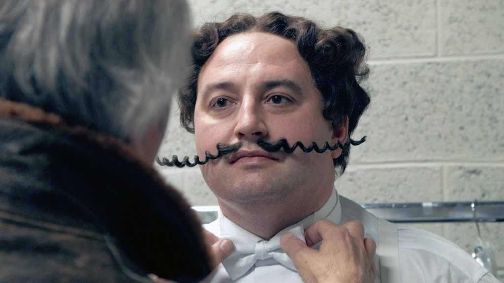 Gio Compario, The Man Behind The Moustache