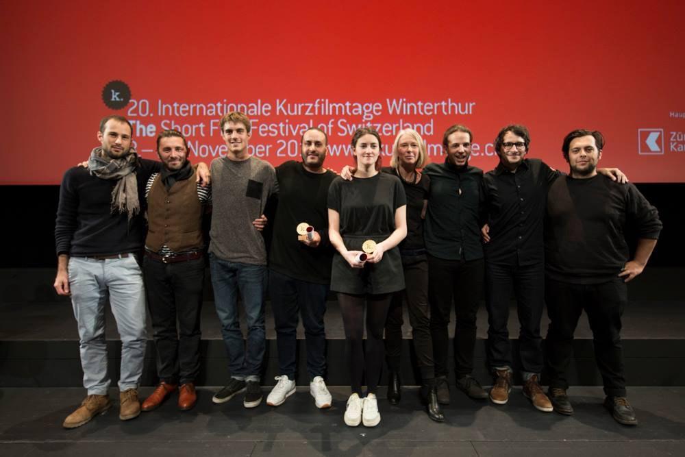 World Premiere and Special Mention for EN LA BOCA at Kurzfilmtage Winterthur