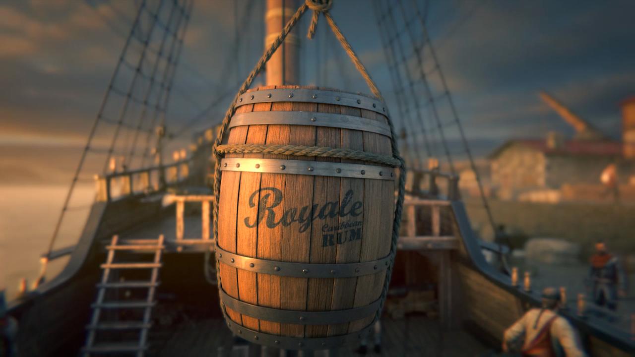 Port Royale 4 videogame trailer.