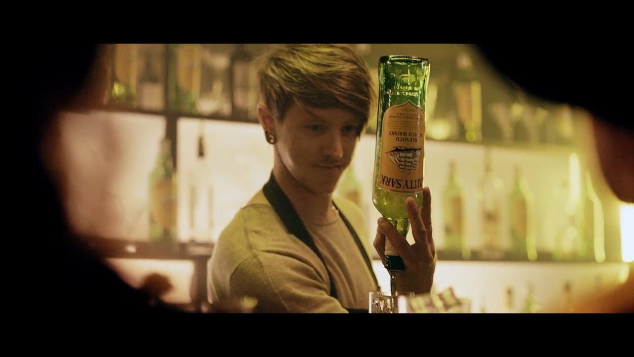 Cutty Sark Whisky.
