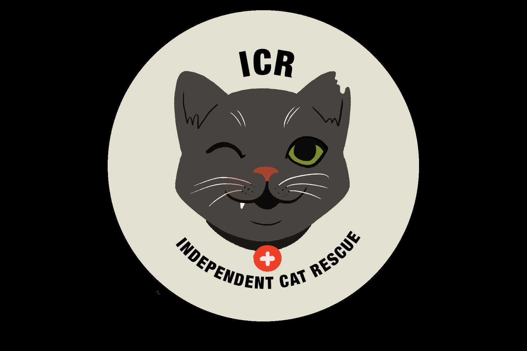 Victoria Skellan - ICR_logo_blackcat_neutralcircle