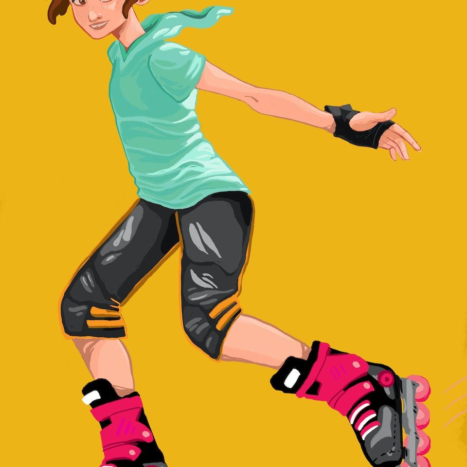Victoria Skellan - Skater