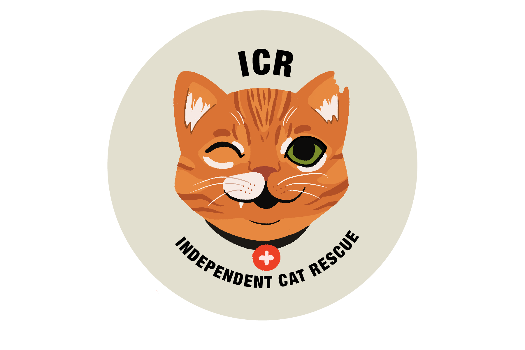 Victoria Skellan - ICR_logo_gingercat_neutralcircle