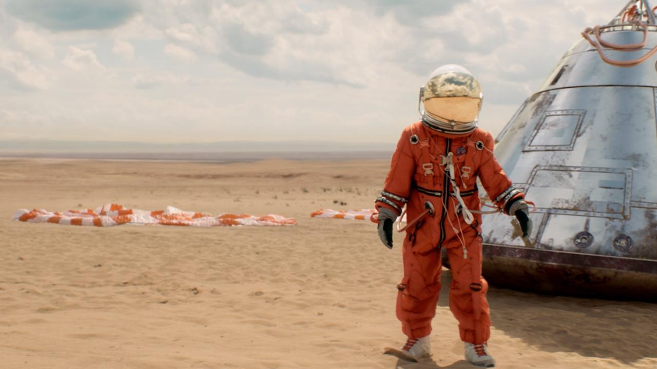 mcdonald's - astronaut