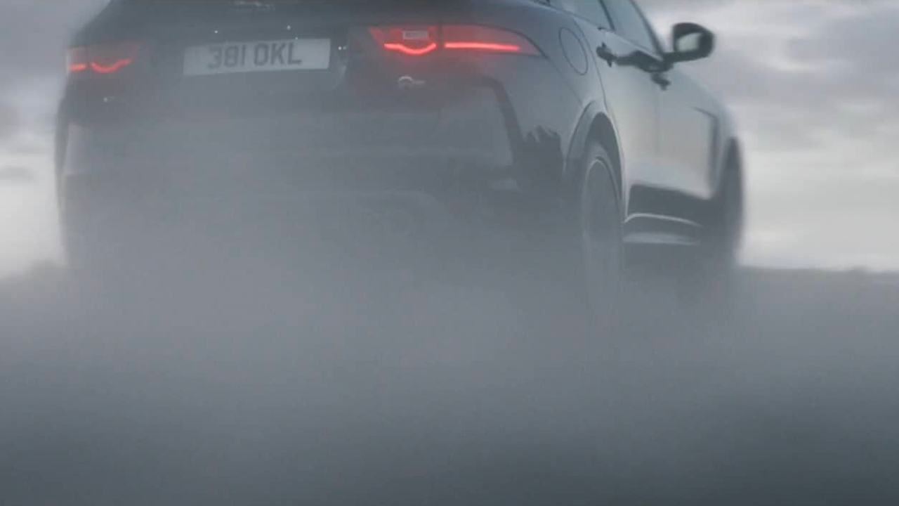 jaguar f-pace svr - end to end
