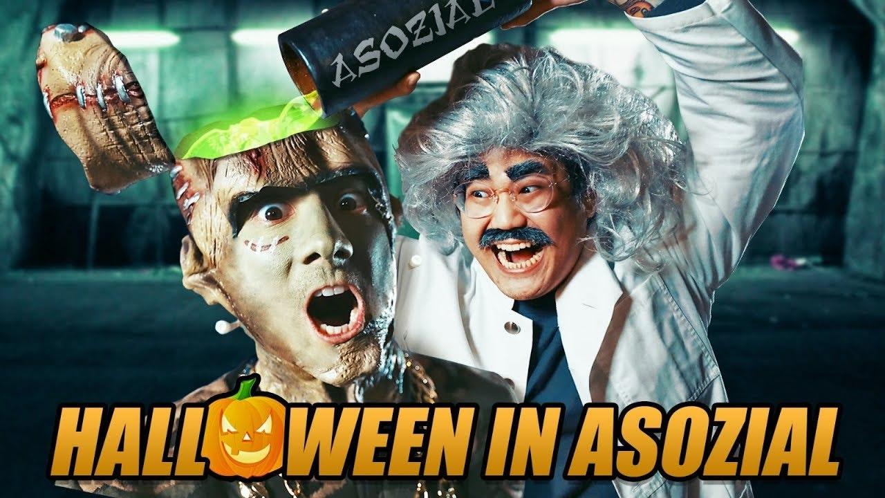 Halloween in Asozial | Julien Bam