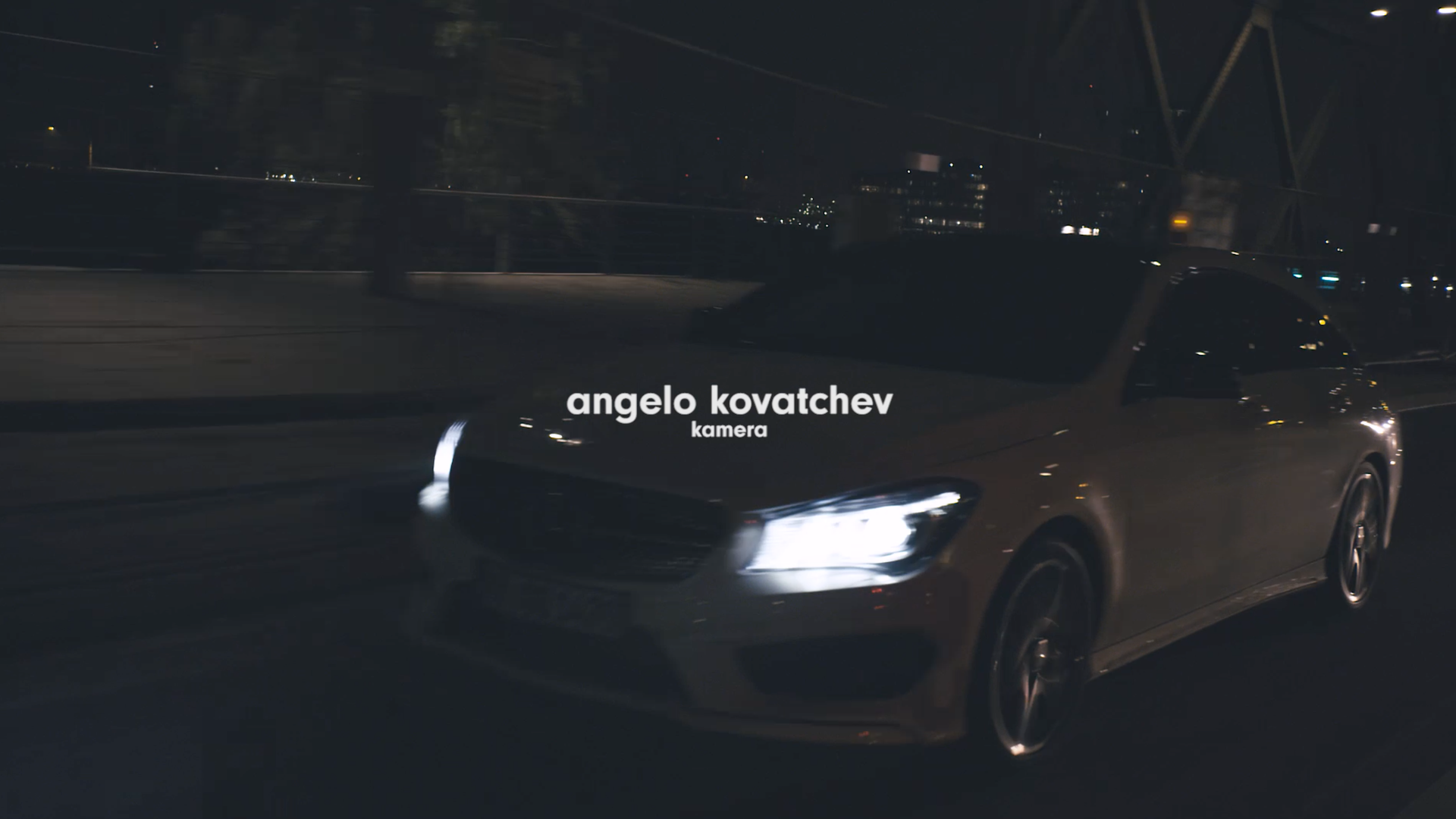 Showreel - Angelo Kovatchev - Kamera
