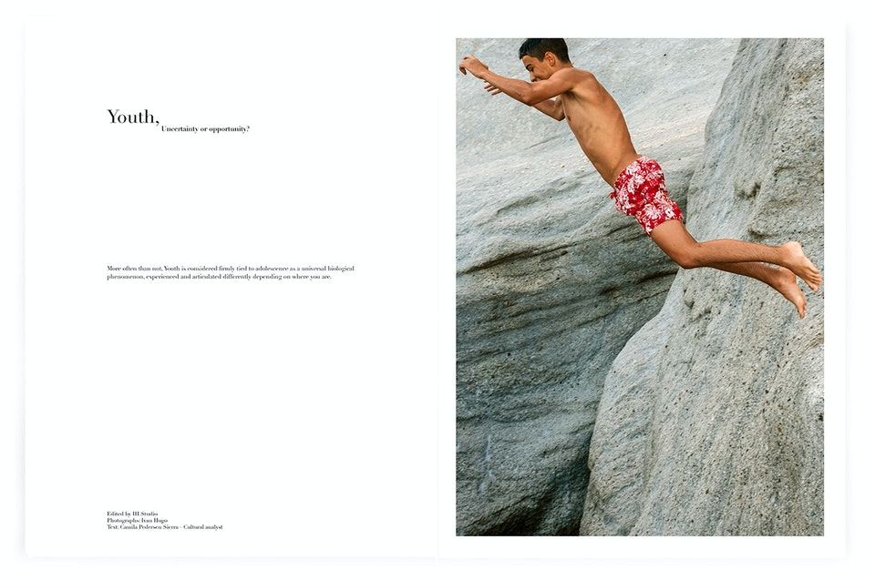 INTO magazine. edition 02, Youth, uncertainty or opportunity? INTO2_jump