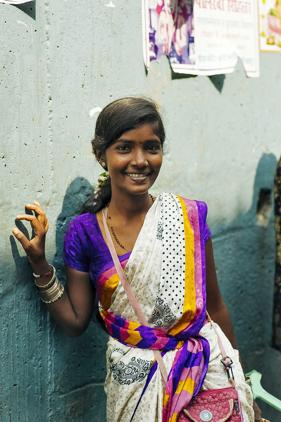 Levi's Portraits of India. flower3