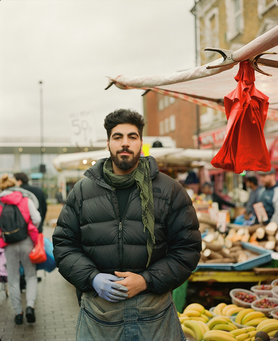 INTO magazine. edition 03, Voices of East London youth. Kurdistan_market