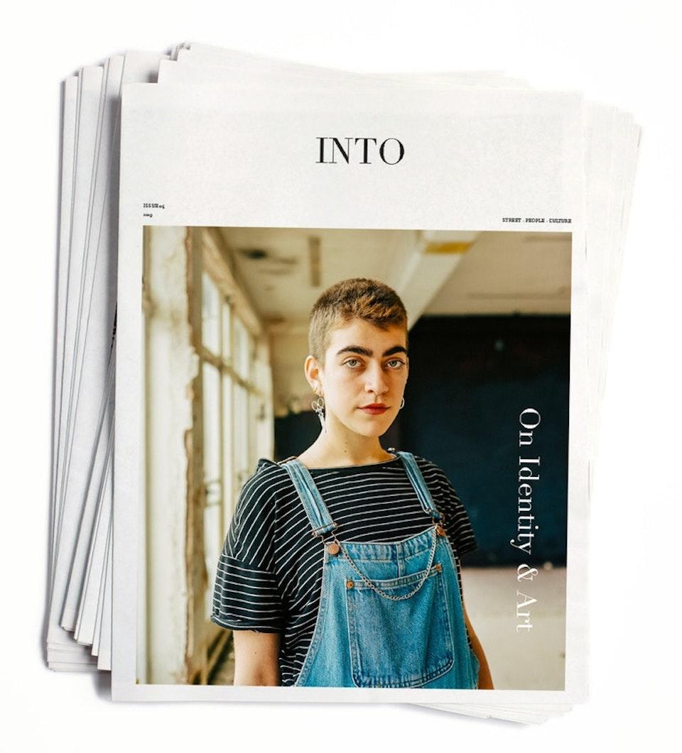 Ivan Hugo - INTO magazine. edition 04, On Identity & Art.