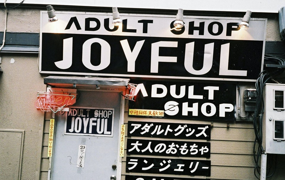 A walk through Japan. sexyshop