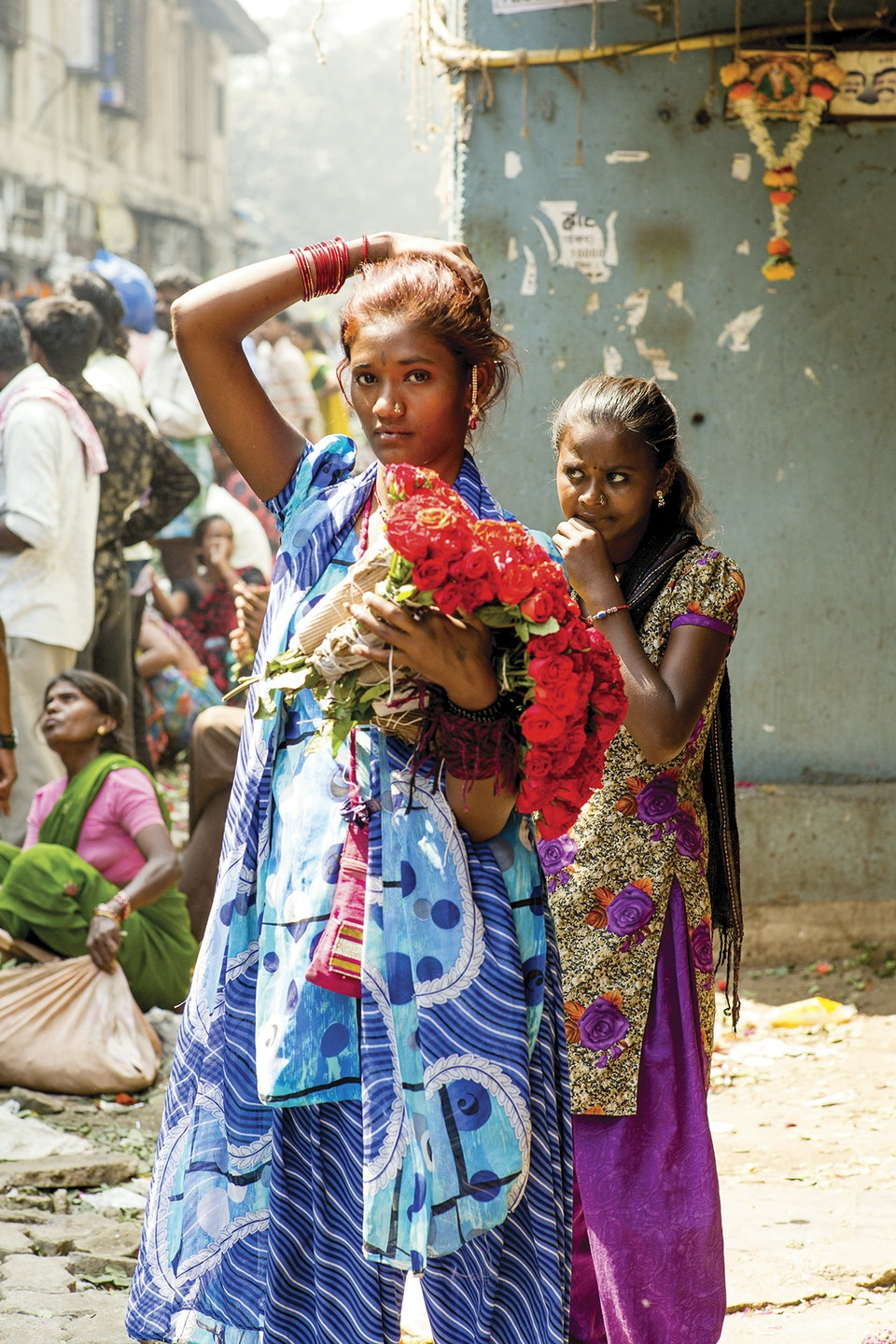 Levi's Portraits of India. flowers2