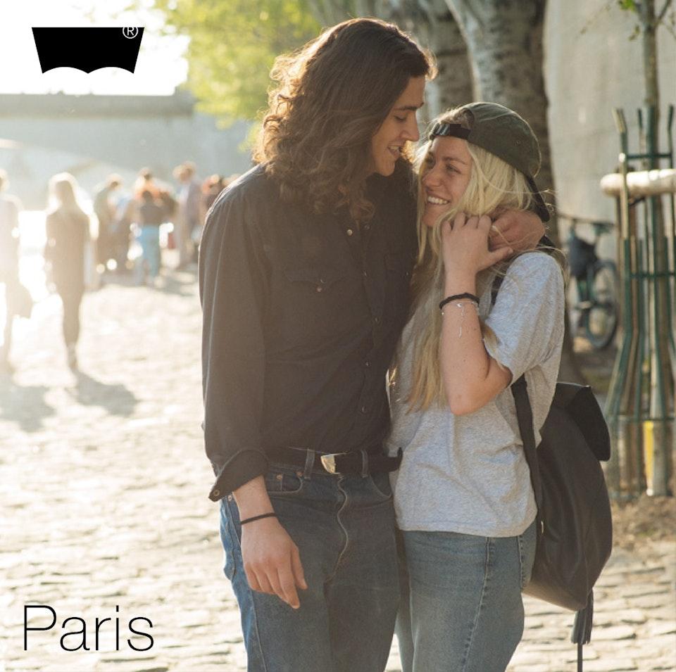 Ivan Hugo - Levi's Streets of Paris