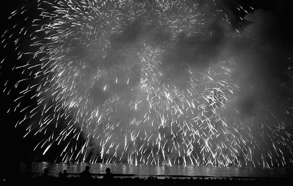A walk through Japan. fireworks
