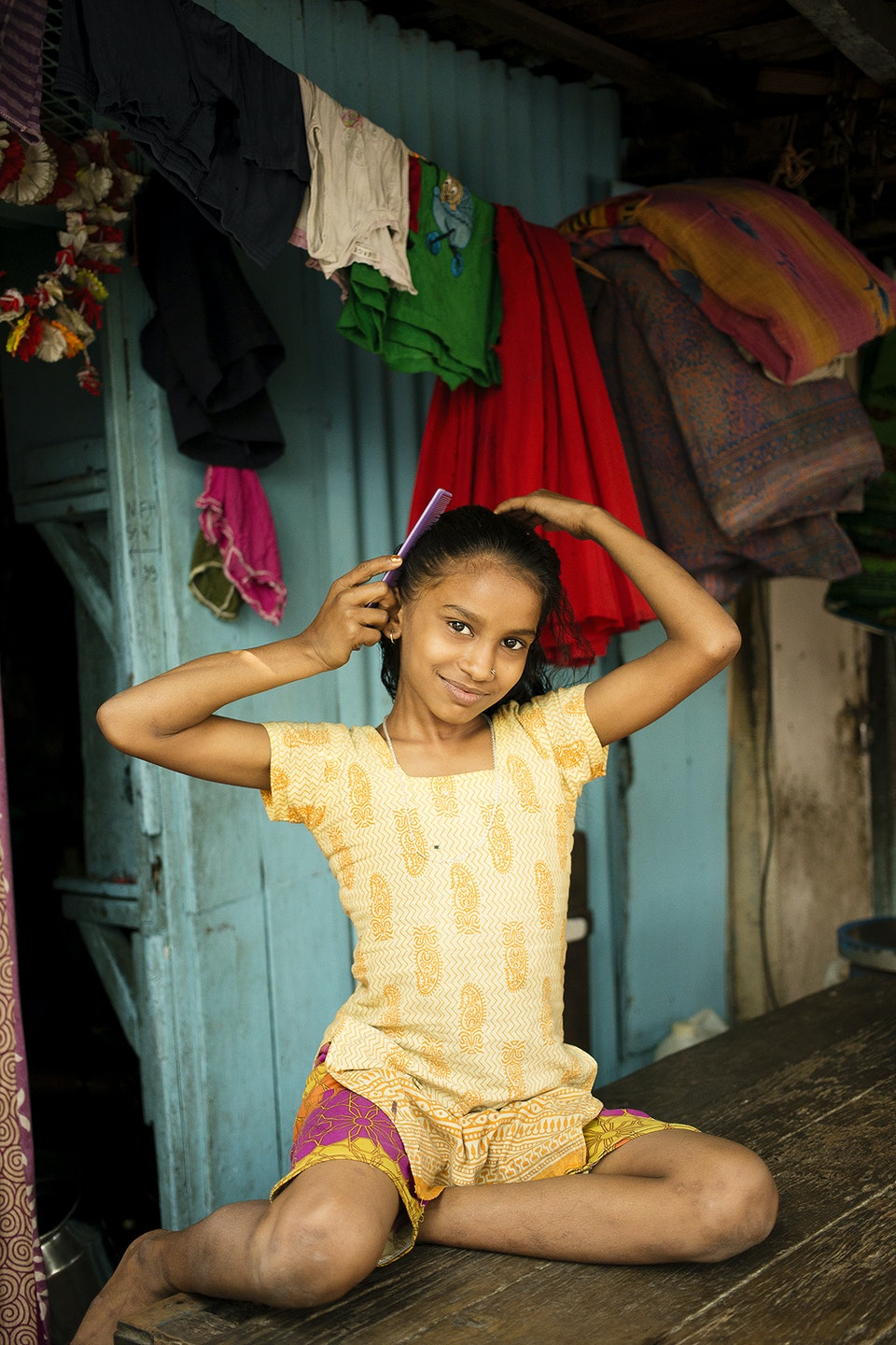 Levi's Portraits of India. India_youth_girl_R