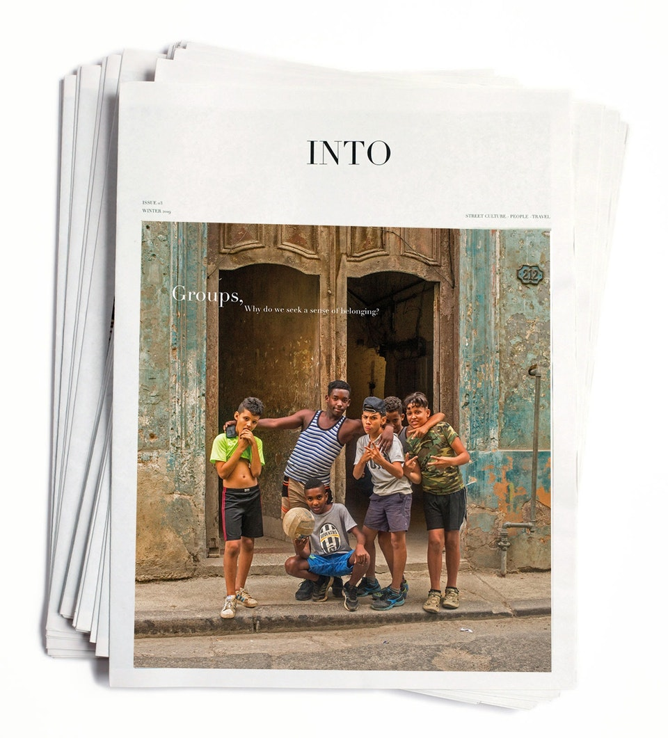 Ivan Hugo - INTO Magazine. edition 01 Why do we seek a sense of belonging?