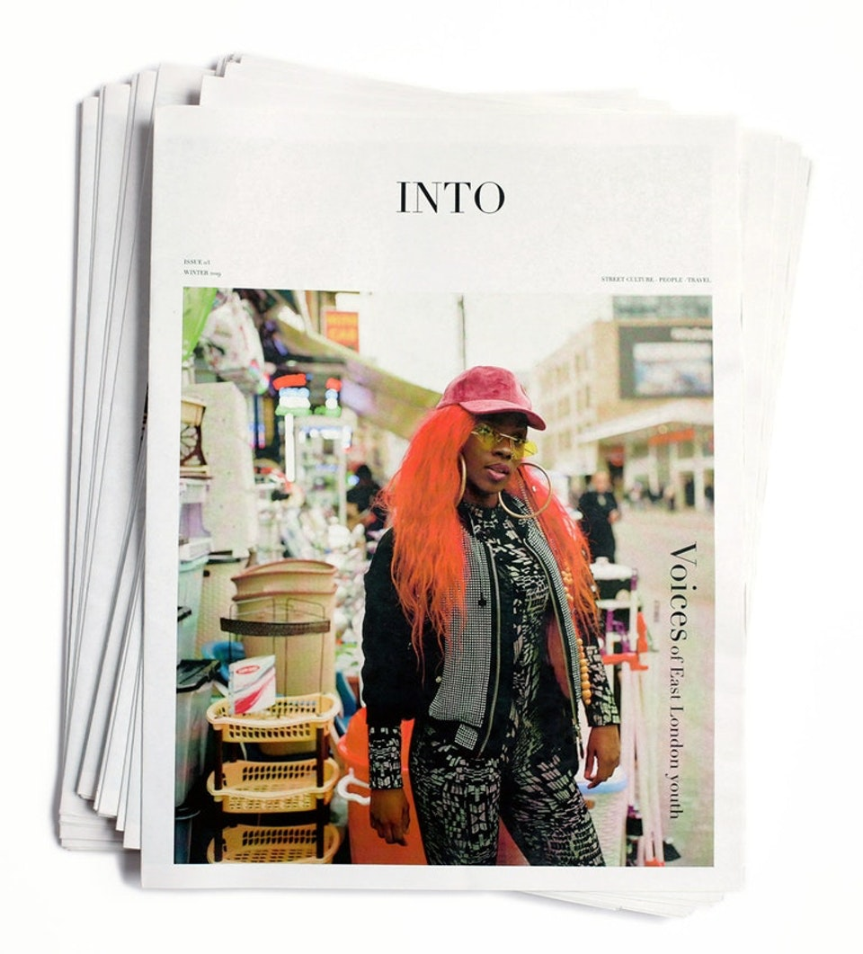 Ivan Hugo - INTO magazine. edition 03, Voices of East London youth.
