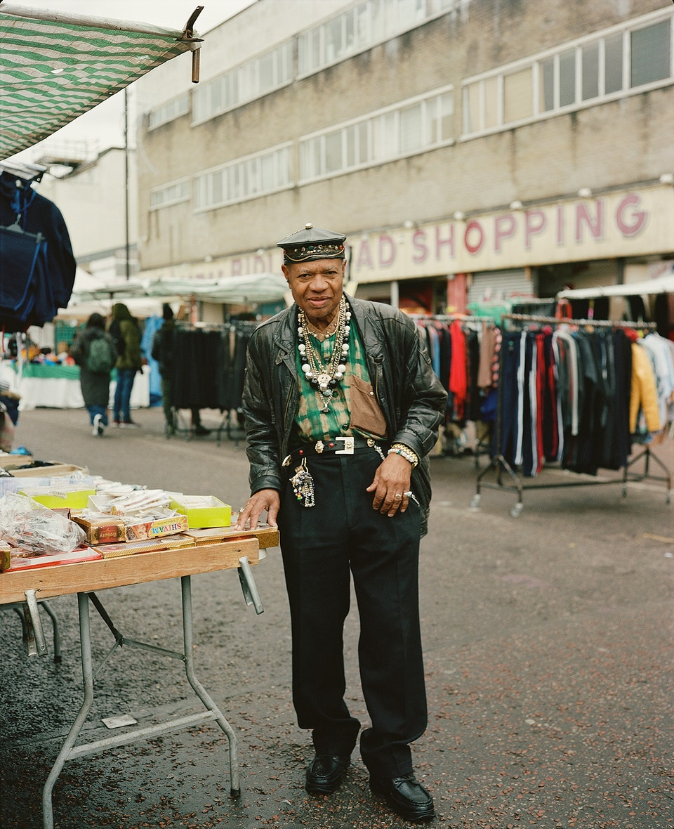 INTO magazine. edtion 03 Voices of East London youth. Dalston_oldman